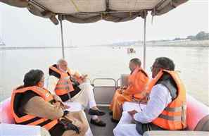 PM Modi reviews progress of Namami Gange project in Kanpur