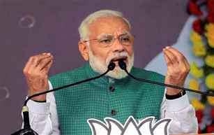 PM Modi accuses Congress, its allies of raising storm over Citizenship Act