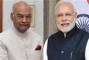 President Ram Nath Kovind invites Narendra Modi to form government