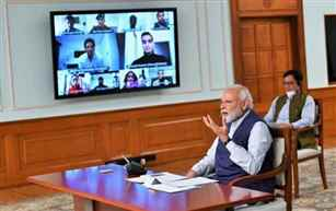 PM asks Sportspersons to spread message of positivity, social distancing