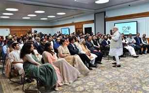 PM Modi appeals to entertainment fraternity to use its creative spirit for nation-building