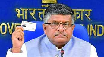 Aadhaar will be linked with driving licence, says Ravishankar Prasad