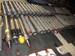 US Navy seizes illicit weapons cache in Arabian Sea