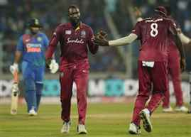 West Indies beat India by 8 wickets in 2nd T20I