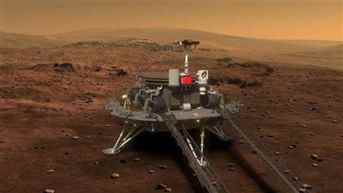 China successfully lands its rover Zhu Rong on Mars
