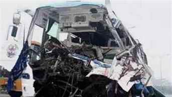 11 killed as container truck collides with state bus in Maharashtra's Dhule