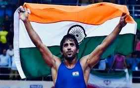 Bajrang Punia wins Gold in Asian Wrestling champioship