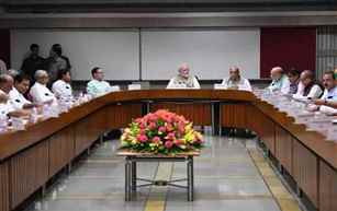 PM Narendra Modi chairs all-party meet on One Nation, One Election