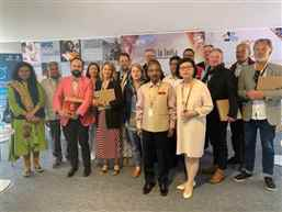 Indian delegation meets Film Commissioners at Cannes Film Festival
