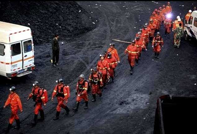 17 trapped in China iron mine flooding