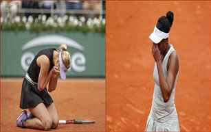 Angelique Kerber, Venus Williams suffer defeats at French Open