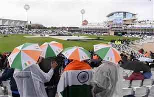 ICC World Cup: India, New Zealand share points as match washed out due to rain