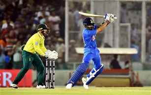 India defeat South Africa by 7 wickets in Mohali T-20 International