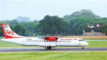 Sri Lanka's Jaffna international airport receives its inaugural flight from Chennai