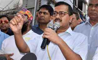 Congress files complaint against Kejriwal for allegedly making communal remarks