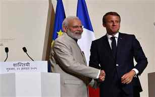 PM Modi holds talks with French Prez; India, France to expand cooperation in areas of counter terror