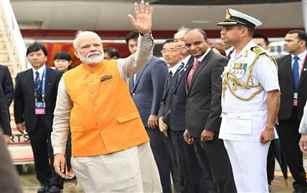 PM Modi reaches Osaka for G20 Summit, hold talks with his Japanese counterpart Shinzo Abe