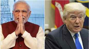 Anti-India violence not conducive to peace, PM Modi tells Donald Trump