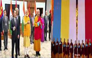 PM Modi & Mongolian Prez jointly unveils statue of Lord Buddha at Gandan Monastery
