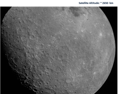 Moon as viewed by Chandrayaan-2