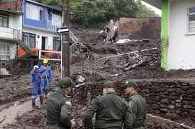 Mudslide kills 19 in Colombia