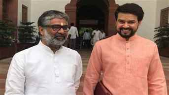 Former SP Rajya Sabha MP Neeraj Shekhar joins BJP