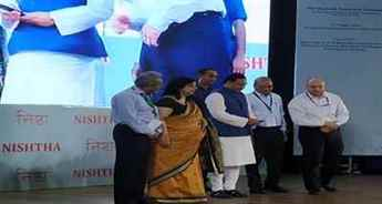 HRD Minister Ramesh Pokhriyal 'Nishank' launches Teachers Training Programme NISHTHA
