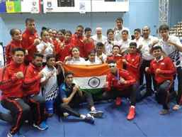 13 Indian pugilists to play semi-final bouts of Asian Boxing C'ships today