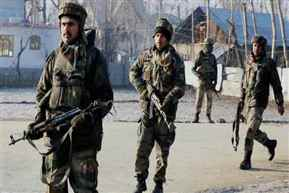 An unidentified terrorist killed in an ongoing Operation in Pulwama district