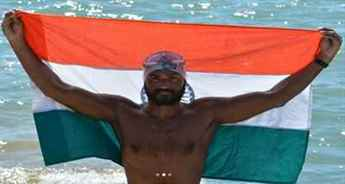 Madhya Pradesh para swimmer Satendra Singh Lohia crosses America's Catalina Channel