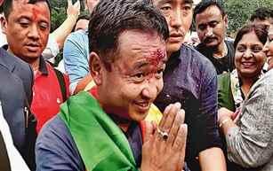 Sikkim Krantikari Morcha stakes claim to form new govt in state