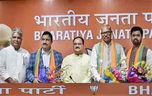 Four TDP Rajya Sabha MPs switch over to BJP