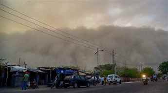 Met Deptt forecasts dust storm or thunderstorm in Delhi