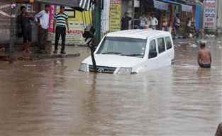 ભાવનગરમાં એક ઇંચથી વધારે વર્ષા : ૫૧ જળાશય એલર્ટ ઉપર