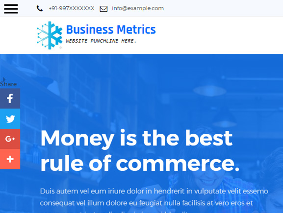 Business Metric Thumbnail Image