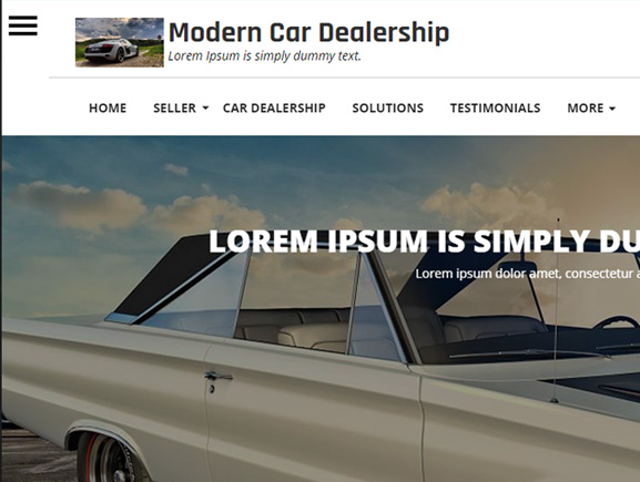 Modern Car Dealership Thumbnail Image