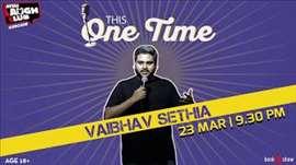 Vaibhav Sethia at Canvas Laugh Club